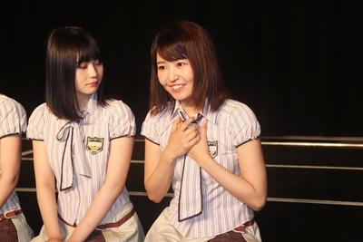 「見てるだけで終わるのは悔しいので、もっと向上心を持って頑張りたいと思います」(惣田、右)/チームKⅡ 7th Stage「最終ベルが鳴る」