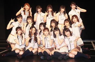 SKE48チームKⅡ「最終ベルが鳴る」公演の初日メンバー16人/チームKⅡ 7th Stage「最終ベルが鳴る」
