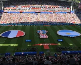 決勝トーナメント1回戦、フランスが4−3でアルゼンチンを下した