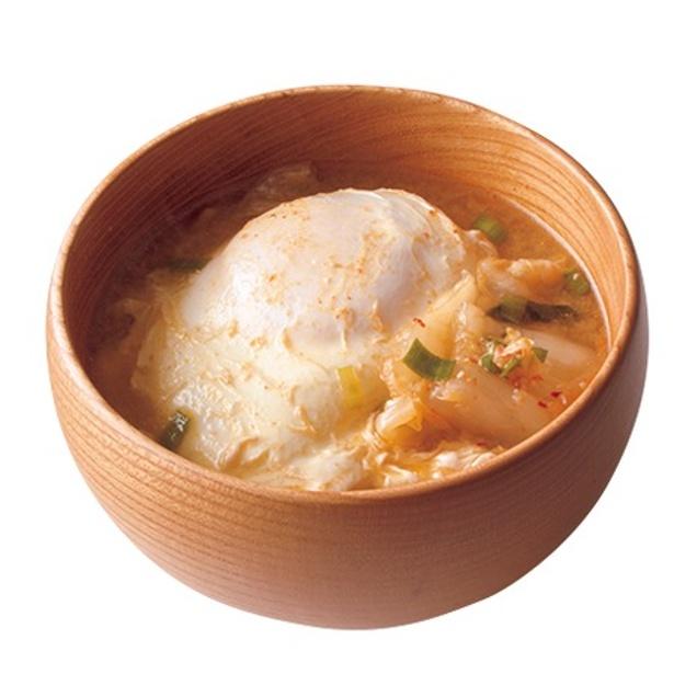 【関連レシピ】キムチのみそ汁