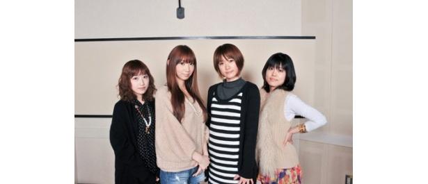 コメントを寄せた五十嵐裕美、井上麻里奈、沖佳苗、沢城みゆき(写真左から)