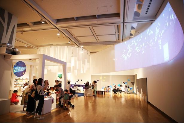 先端のデジタル技術を活用した展示は必見