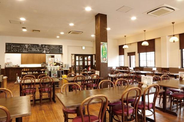 レストランで食事を注文すれば、嬉しい特典が/道の駅 村岡ファームガーデン