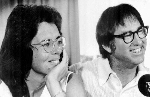 【写真を見る】エマ・ストーンとスティーヴ・カレルが完全再現!実際のビリー・ジーンとボビー・リッグス