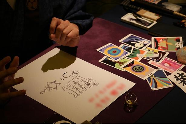 仕事も恋愛もうまくいくから安心しなさいと出た和製タロットカード