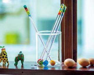 <1>作るのはマドラーの持ち手の装飾部分/ガラス工房 nazuna薺