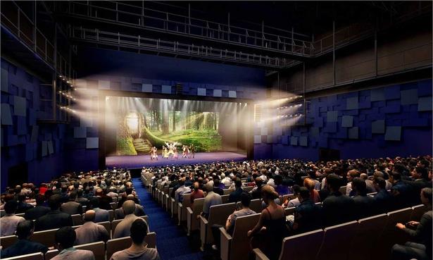 TTホールは客席とステージの距離が近く、出演者の表情や動きまでよく見える