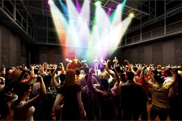 客席が自由に設定できるSSホールはさまざまなイベントや展示会などにも利用可能