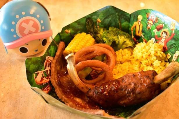 ルフィの肉プレート〜うほー!んまほー!〜¥1,990