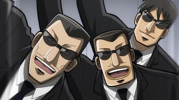 「中間管理録トネガワ」第2話の先行カットが到着。会議に兵藤会長が現れて…