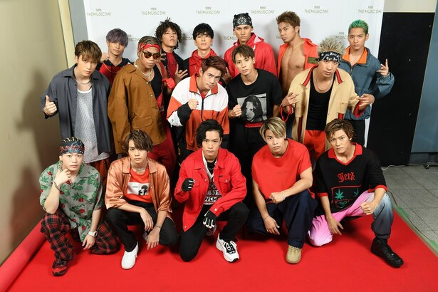 the rampage from exile tribe 七夕の願いは意外と地味 the music