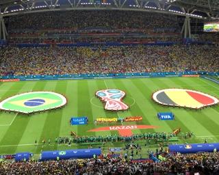 ベルギーがブラジルを2-1で下し、ベスト4進出