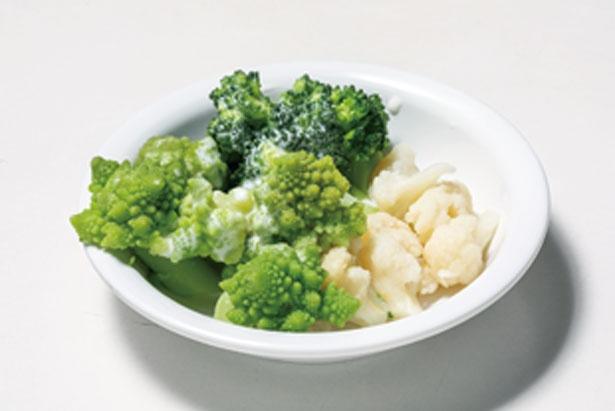 【第3位】花野菜の冷製チーズフォンデュ/大阪高島屋 屋上ビアガーデン キラビア ベジプラススタイル