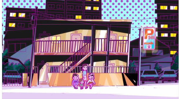 「深夜!天才バカボン」第1話の先行カットが到着。装いも新たに大騒動!?