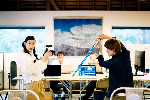 モデルの前田エマさんがビデオグラファー講座を体験。動画撮影から編集まで勉強してきた!