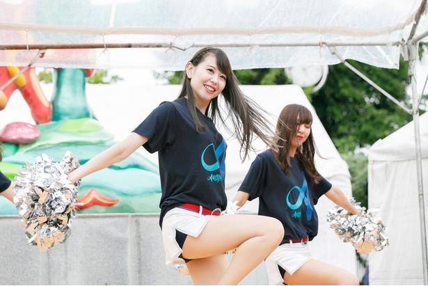 福岡の人気チアダンスチームRFCのメンバー
