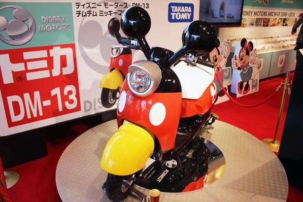 「チムチム ミッキーマウス」の実車版が展示