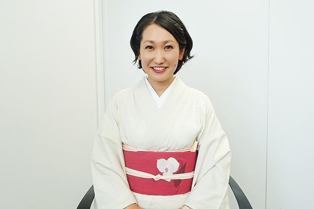 岐阜市・十八楼の女将、伊藤さん。子育て真っ最中のママさん目線で、サービス向上を目指す