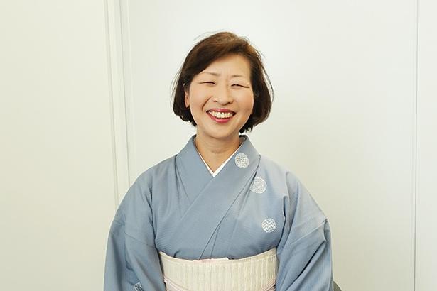 高山市・本陣平野屋の女将、有巣さん。「趣味は旅館」というぐらい、この仕事に一途