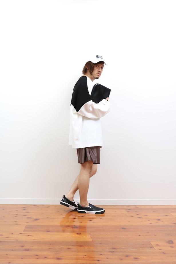 初夏は長袖と短パンの組み合わせでキマリ!!