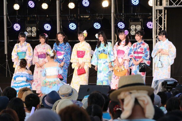 【写真を見る】2017年の「美浜海遊祭―」で行われた浴衣ショー