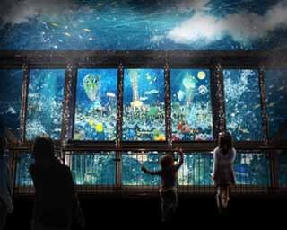 「水中都市の入口 -SKYTOPIA ENTRANCE-」は、物語の始まりを告げるエリア