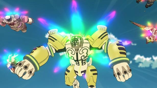 「プラネット・ウィズ」第1話の場面カットが到着。念動巨神装光を纏う7人のヒーローが登場!?