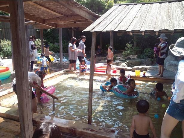 若杉の湯 / 子どもプールは水着を忘れずに!