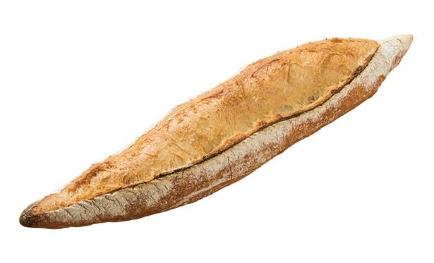 ORTO's Bakery cosses / 低温熟成により、噛むたびに小麦の旨味を感じられる「レトロバゲット」(200円)