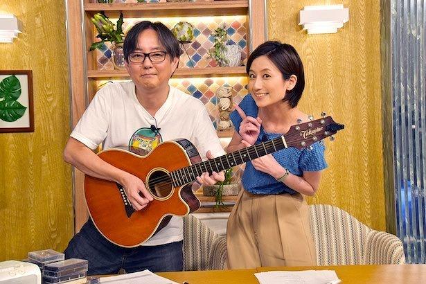 「ザ・カセットテープ・ミュージック」7月13日深夜放送より。スージー鈴木、河村唯