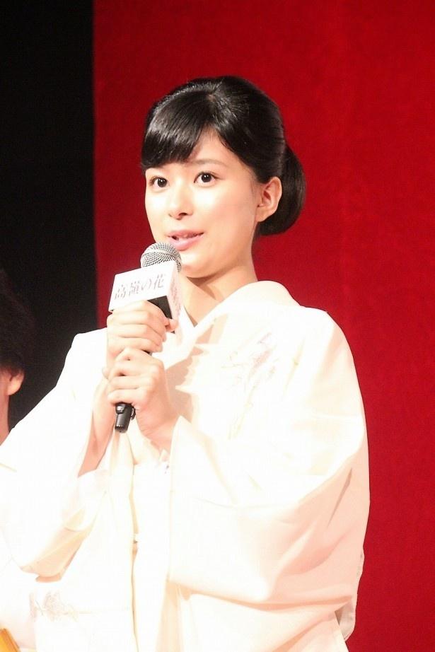月島なな役の芳根京子