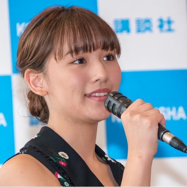 沢口愛華 ミスマガジン2018 グランプリ 画像
