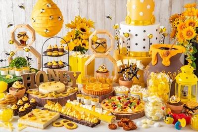 8月2日(木)~9月30日(日)の期間、ハチミツ&チーズのランチブッフェ「ホテルでハニーハント」が開催