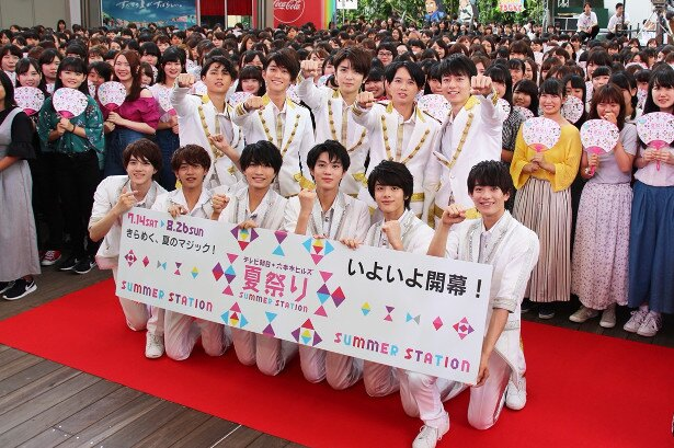 HiHi Jets&東京B少年がファン約1000人の前で汗だく全力パフォーマンス!