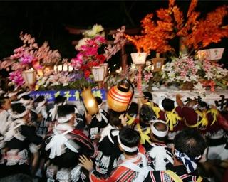 古えより弥彦に伝わる夏の大祭「弥彦燈籠まつり」開催