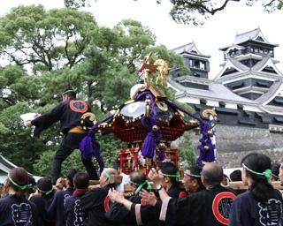 加藤清正公の遺徳をしのぶ「清正公まつり神幸祭」開催