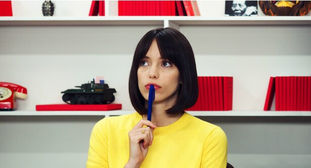 『グッバイ・ゴダール!』で主人公アンヌ役を演じたステイシー・マーティンを直撃