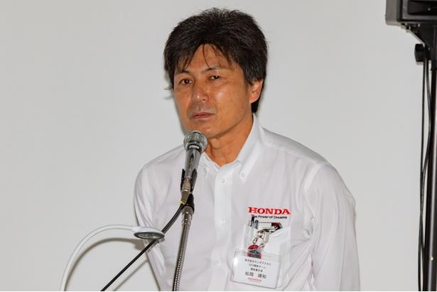 S660 Modulo Xの開発責任者を務めた松岡氏