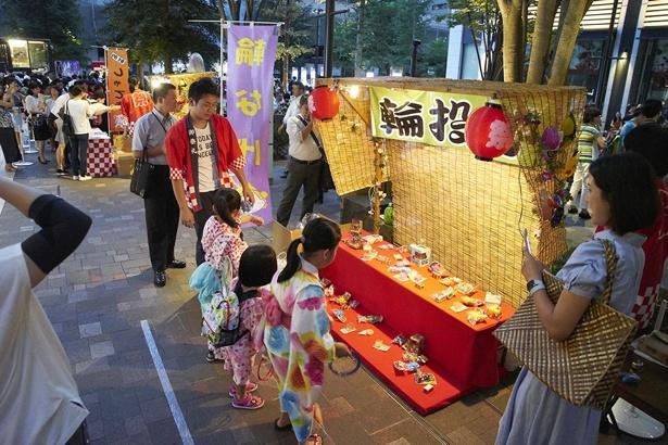 縁日に加え、大手町エリアの人気飲食店と神田エリアの老舗店舗の飲食屋台が初出店する