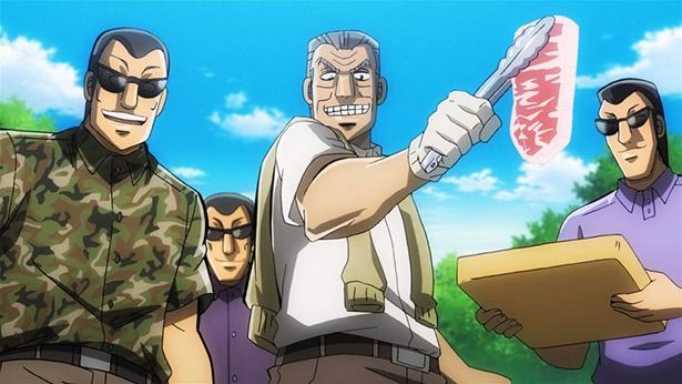 「中間管理録トネガワ」第3話の先行カットが到着。『億兆荘』で最高級神戸牛の食べ放題!?