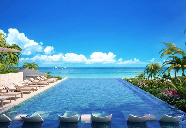 宮古諸島の伊良部島に11月にオープンする「イラフ SUI ラグジュアリーコレクションホテル 沖縄宮古」