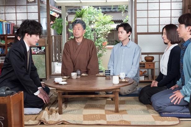 第90回(7月14日放送)では涼次が岐阜の楡野家へやってくる