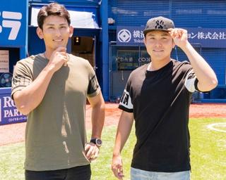 普段から兄弟のように仲の良い2人。同じ代打という役割を通して、野球の話もよくするそう