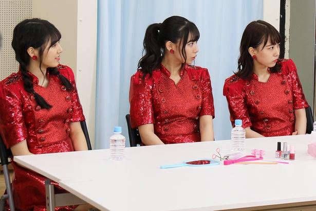 「妄想少女大場」収録中の様子(2)