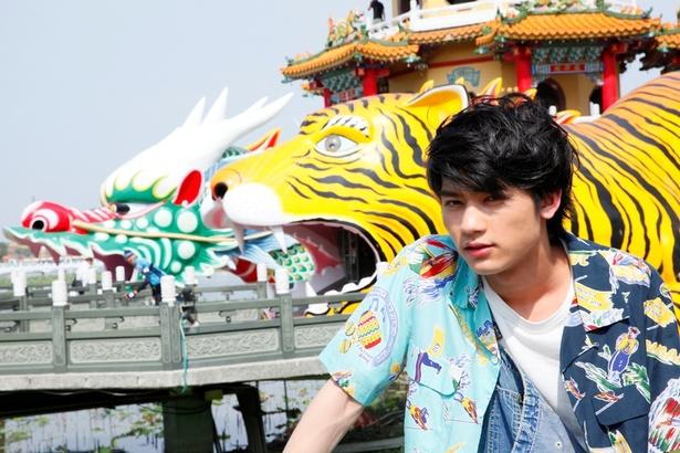 台湾では南の高雄市で撮影を敢行した写真集。「ご飯も全部美味しかった」のだとか