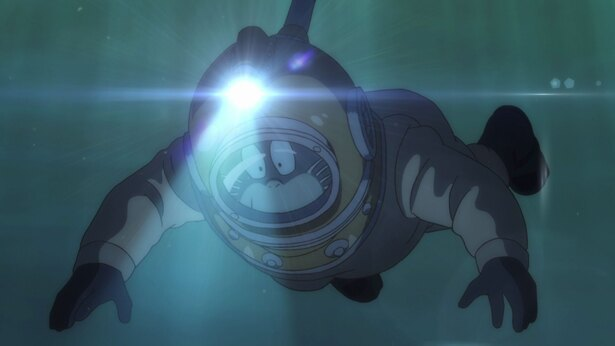 「ゲゲゲの鬼太郎」第16話の先行カットを公開。まなが船幽霊たちに襲われる!