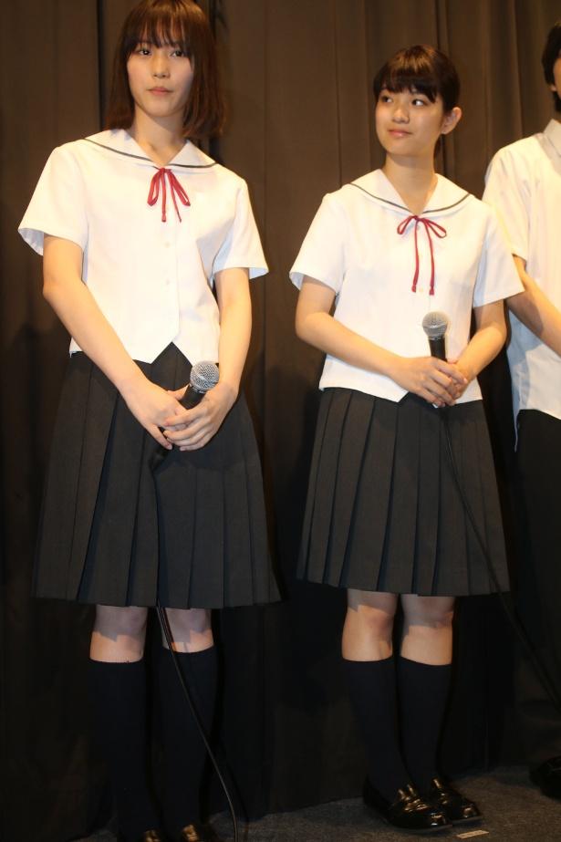 【写真を見る】南沙良や蒔田彩珠、制服姿の全身ショットがまぶしい!