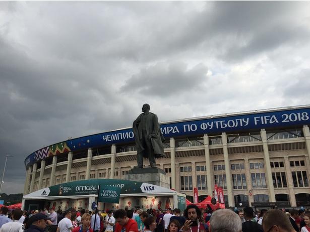 【写真を見る】クロアチアのサッカーが観る者を魅了する