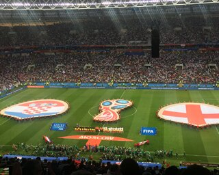 クロアチアがイングランドを下し、初のW杯決勝進出
