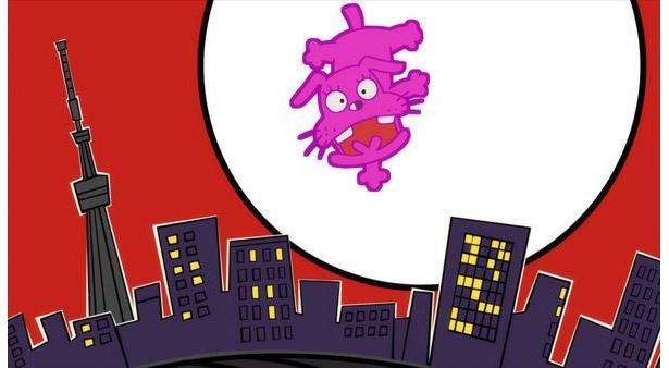 「深夜!天才バカボン」第2話の先行カットが到着。珍獣・ウナギイヌと本官が活躍!?